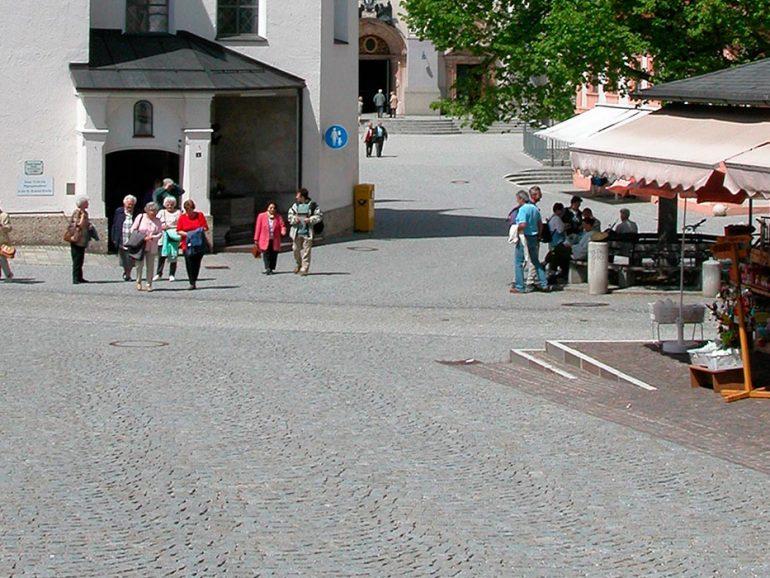 Kapellplatz in Altötting